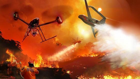 洛杉矶消防队将启用无人机评估风险