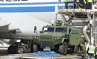 中国赠送欧洲国家大批装甲车