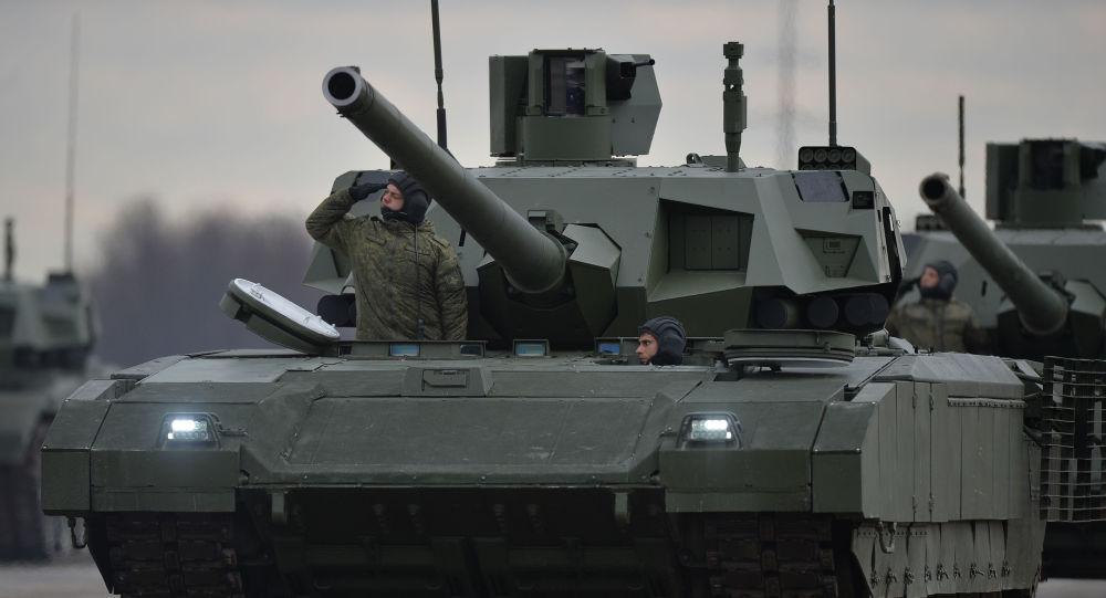 这些都不卖!俄表示未计划出售T14坦克、T50战机