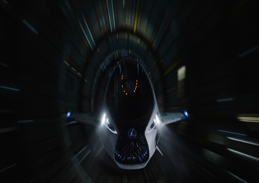 雷克萨斯SKYJET飞船将亮相银屏 展望未来交通