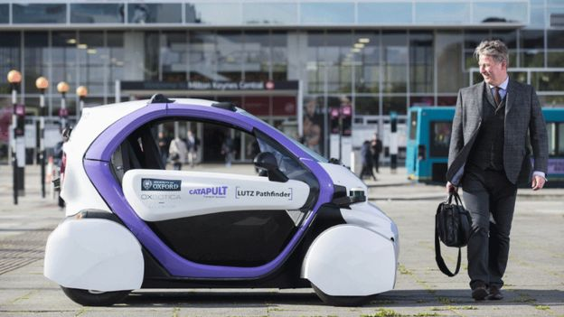 英国政府为自动驾驶汽车亮绿灯 批准年底路测