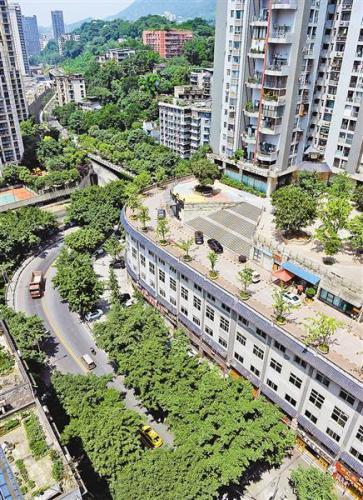 重庆网红建筑 当地人早已见怪不怪