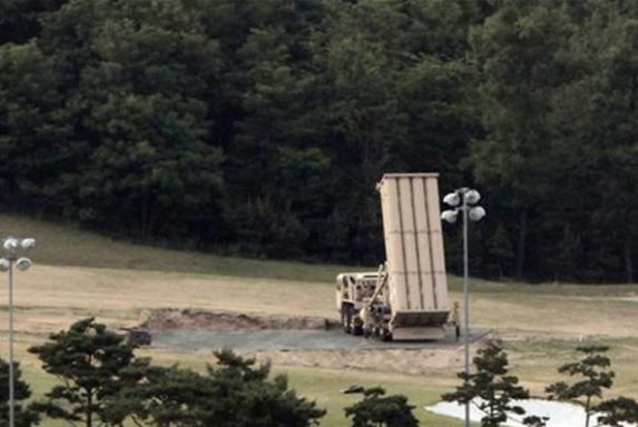"""韩萨德反导部署""""神秘""""加速 已有2架发射台部署"""