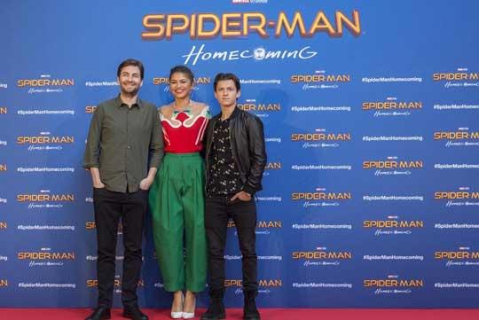 《蜘蛛侠:英雄归来》开启全球巡回快闪