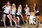 德国农场女性秀大长腿