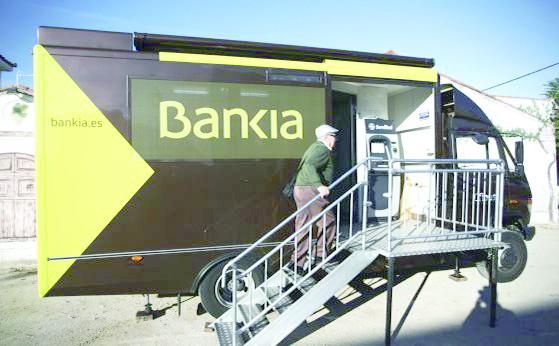 卡车银行在西班牙农村地区开始流行