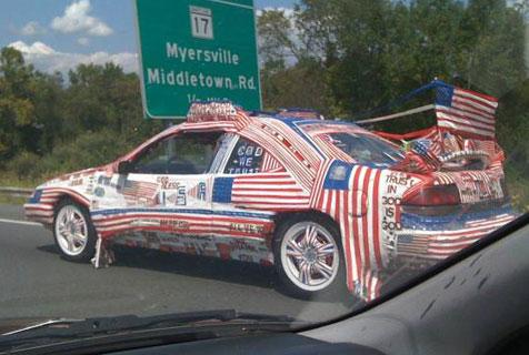 一定要把车装饰成这样吗?