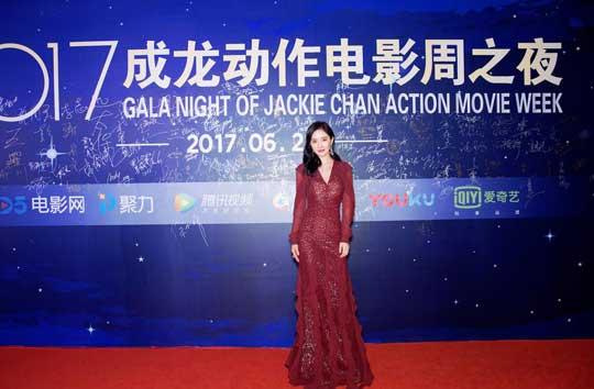 《逆时营救》成龙动作电影周杨幂获最佳动作女演员