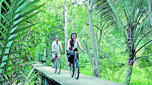骑行帕巴丹 曼谷寻绿踪