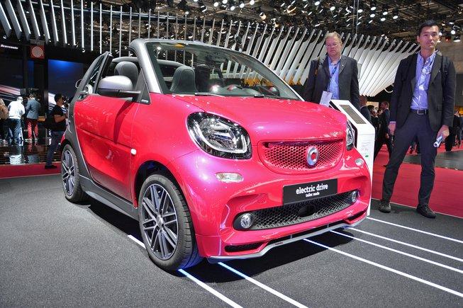 Smart品牌明年起在美专售电动车 引争议