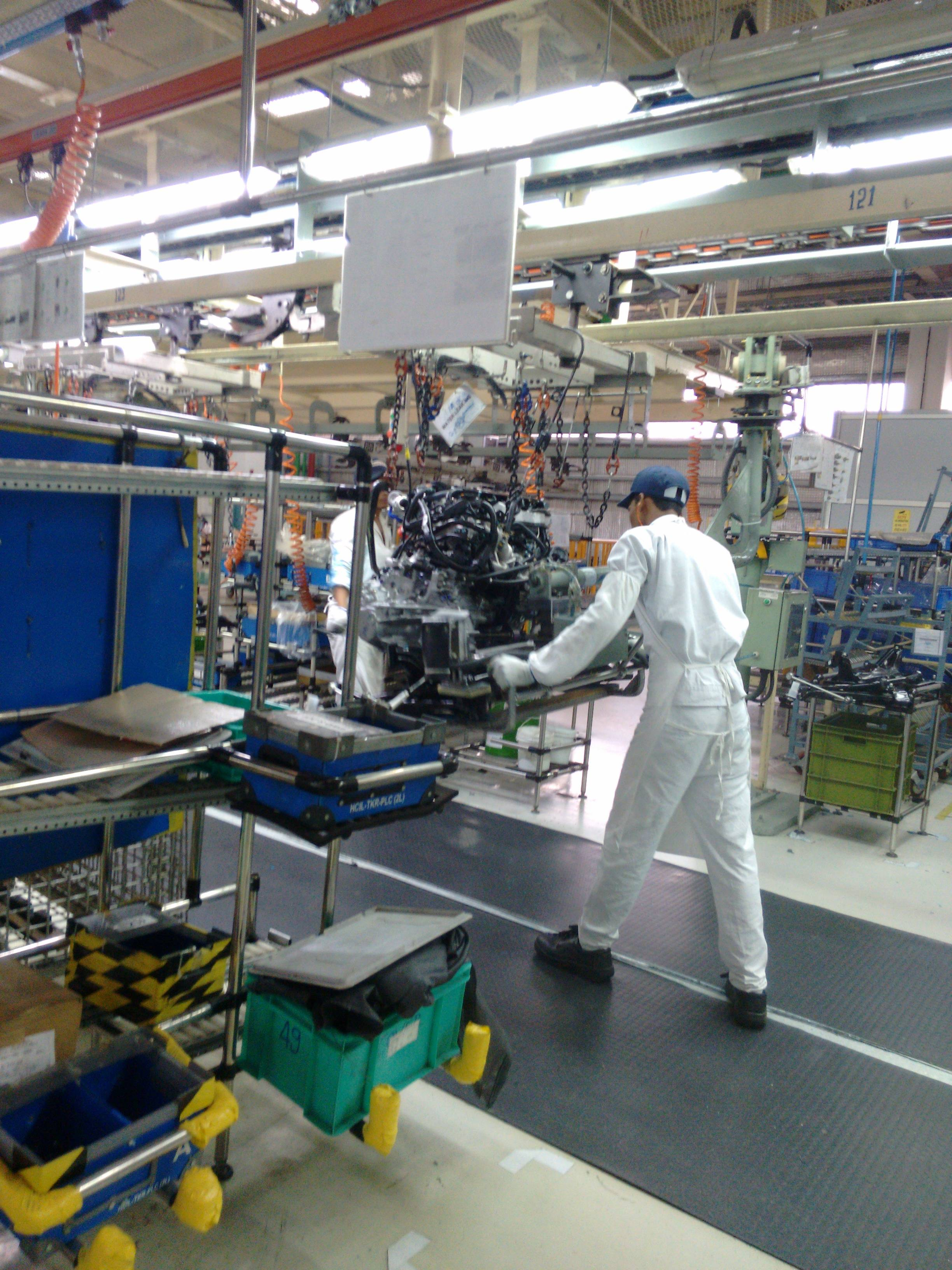 本田印度首次向泰国出口1.6升柴油发动机