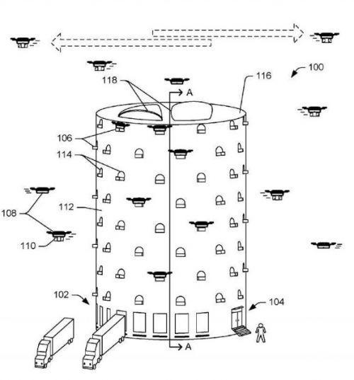 亚马逊欲建无人机驱动塔 加速快递运输
