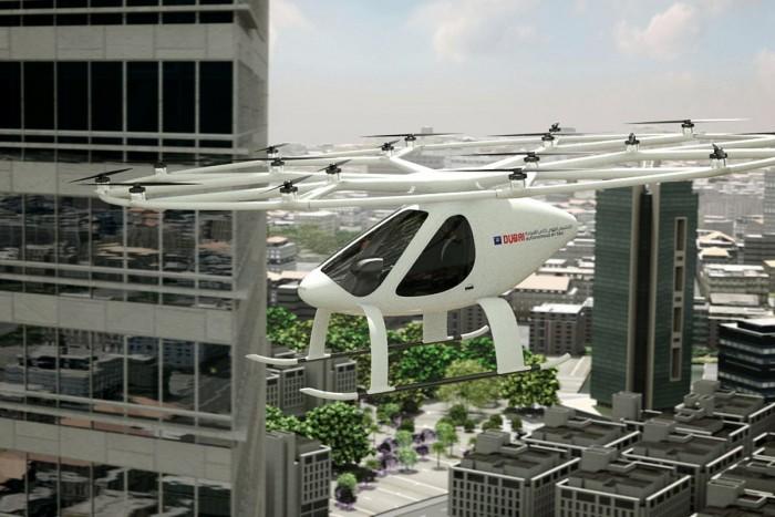 """德航空初创公司宣布与迪拜合作 Q4开始测试""""空中出租车""""服务"""