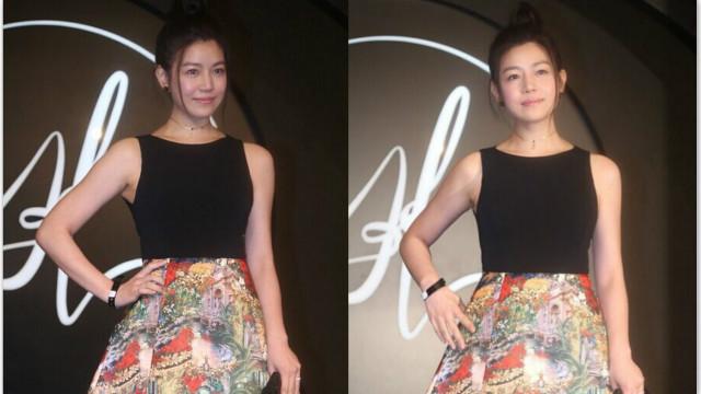 是不是瘦了?陈妍希产后恢复少女身材