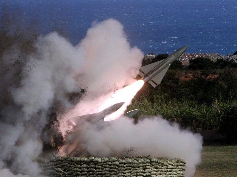 台军导弹试射基地连出事故 附近居民怕被误伤