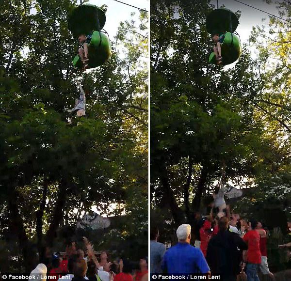 英14岁女孩缆车上窒息 高空跳下被路人接住送医