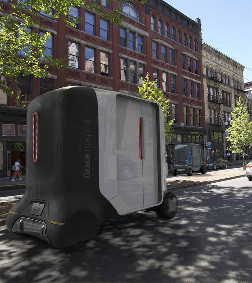 黑科技大集结 移动诊所概念车想要的功能它都有