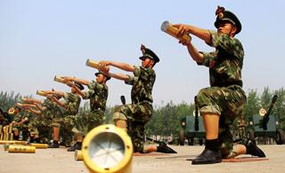 共和国礼炮部队:刻苦训练只为惊艳瞬间