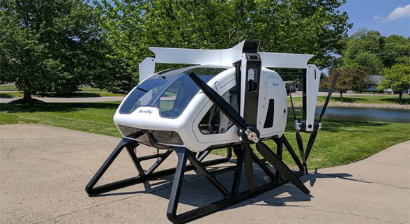 私人小型直升机亮相巴黎航展 仅重500千克