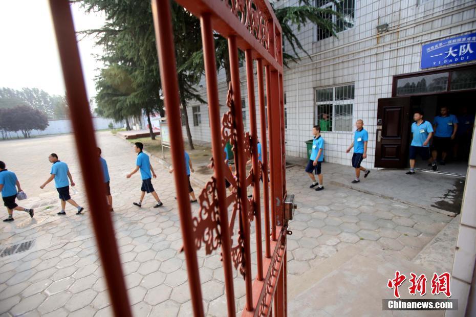 探访郑州戒毒所 数百人打太极做手语操