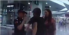 女子不配合地铁安检 竞诬陷民警偷钱并扬言自杀