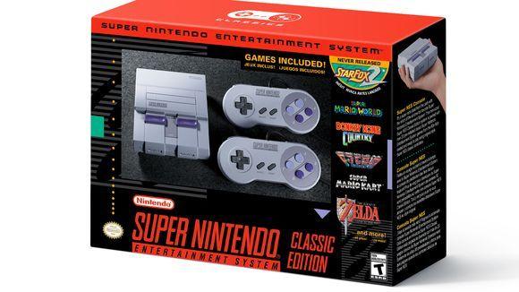 任天堂宣布复刻迷你版SNES 内含21个经典游戏