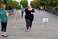 澳洲女孩396斤 为孩子努力健身跑步