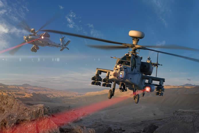 阿帕奇直升机将装配高能激光武器系统