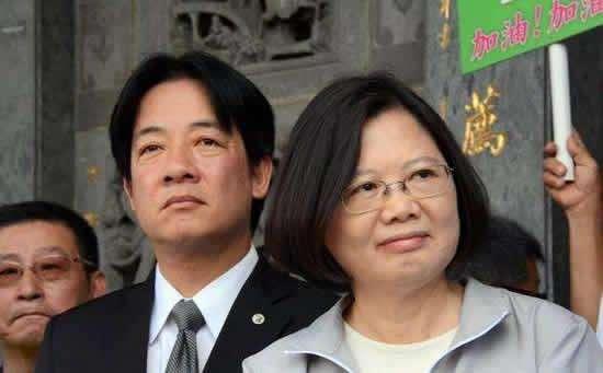 """赖清德叫嚣""""大陆要吞并台湾"""" 称把""""台独""""进行到底"""