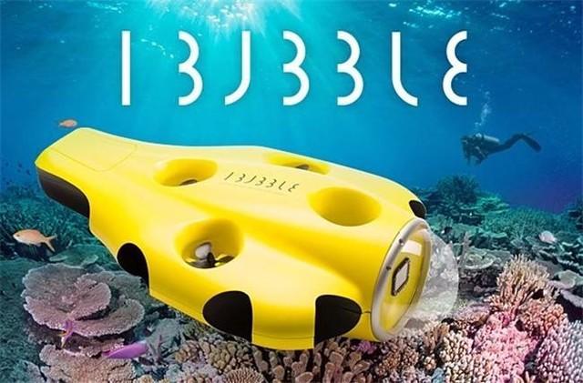 水下无人机iBubble众筹成功:最深可达60米