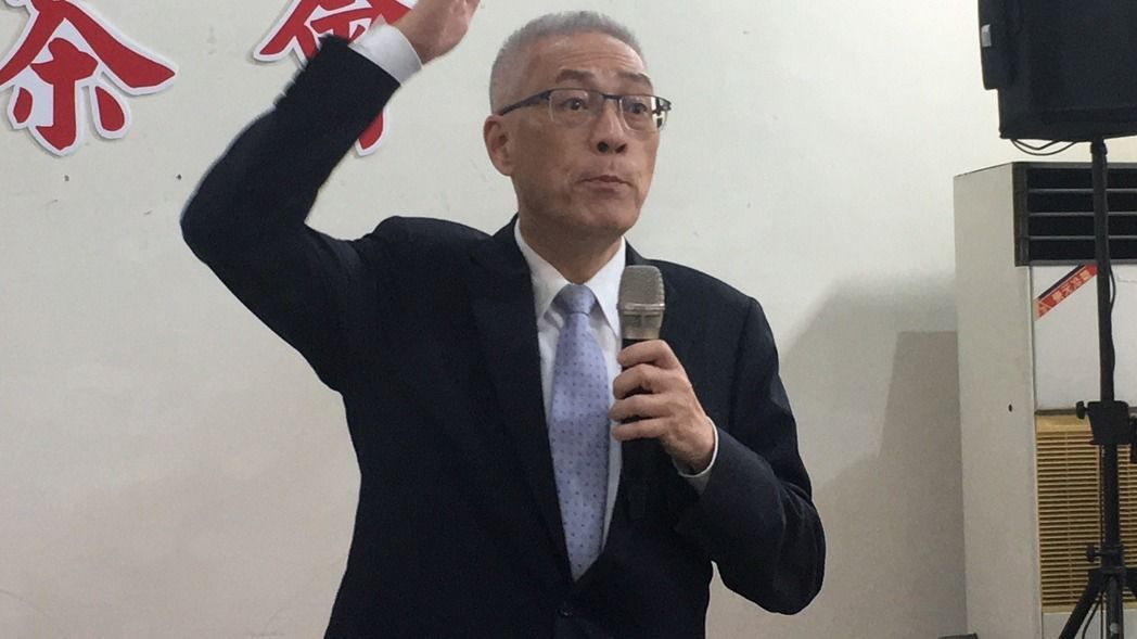 吴敦义喊话2020:国民党要重返执政、要拨乱反正