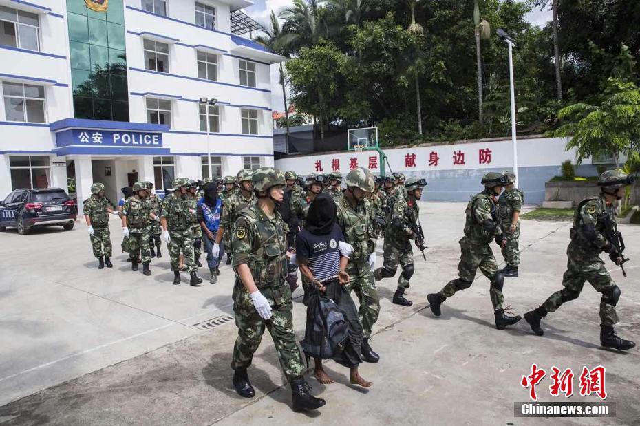 中缅警方相互移交26名涉毒人员