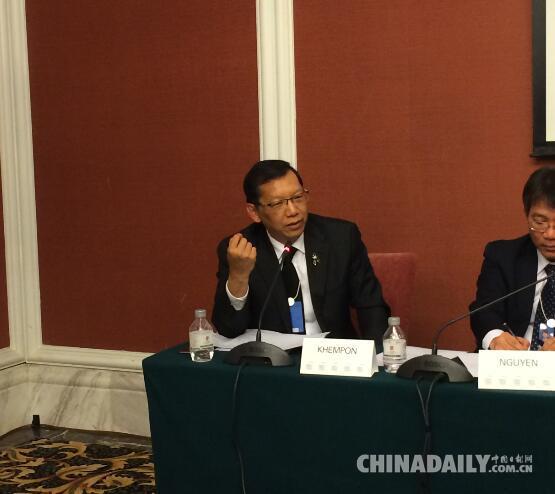 """泰国驻华大使:""""一带一路""""是和平之路共赢之路"""