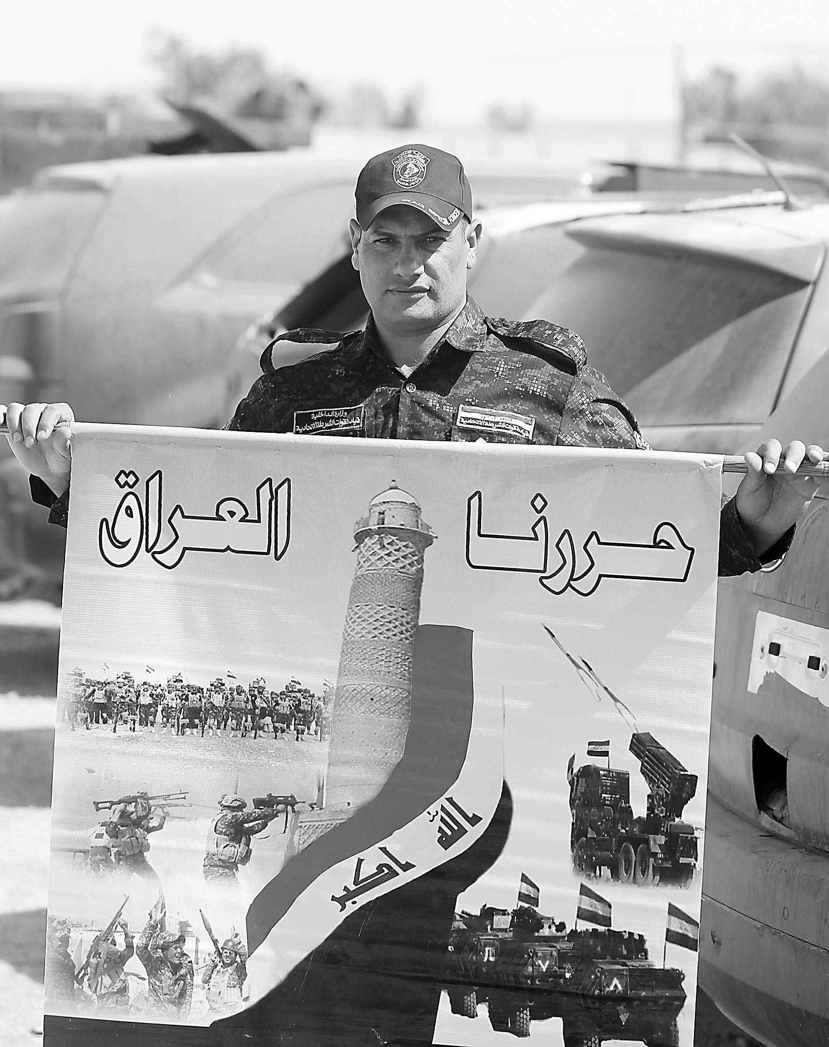 走进摩苏尔:看IS垂死挣扎 国际联盟正展开合围