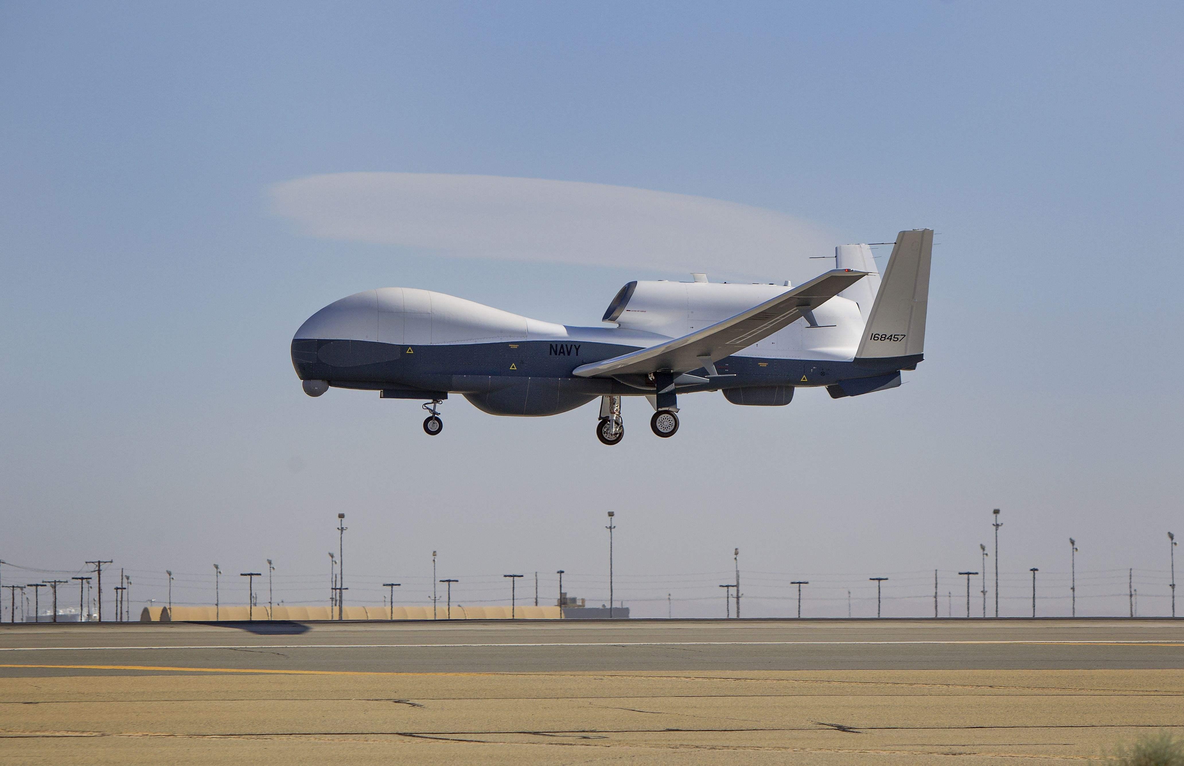 美军MQ4C无人机明年服役 将用于亚太战略侦察