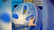 """米其林展示""""黑科技""""轮胎,3D打印不用充气"""