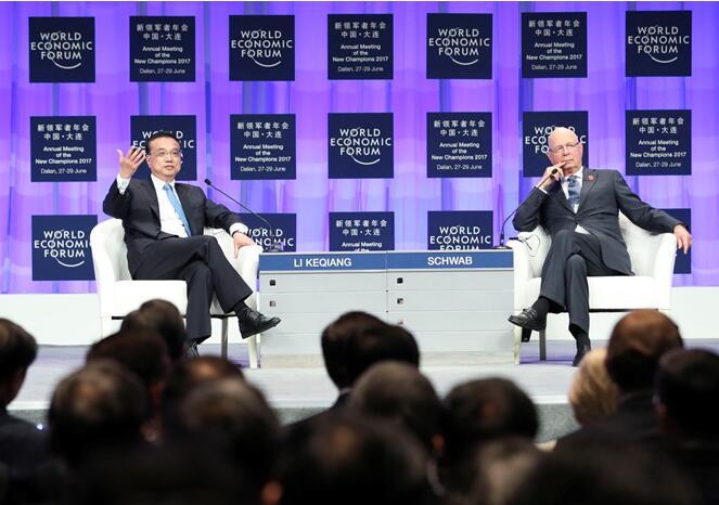 夏季达沃斯上,总理用4个比喻阐释当前世界经济与包容性增长