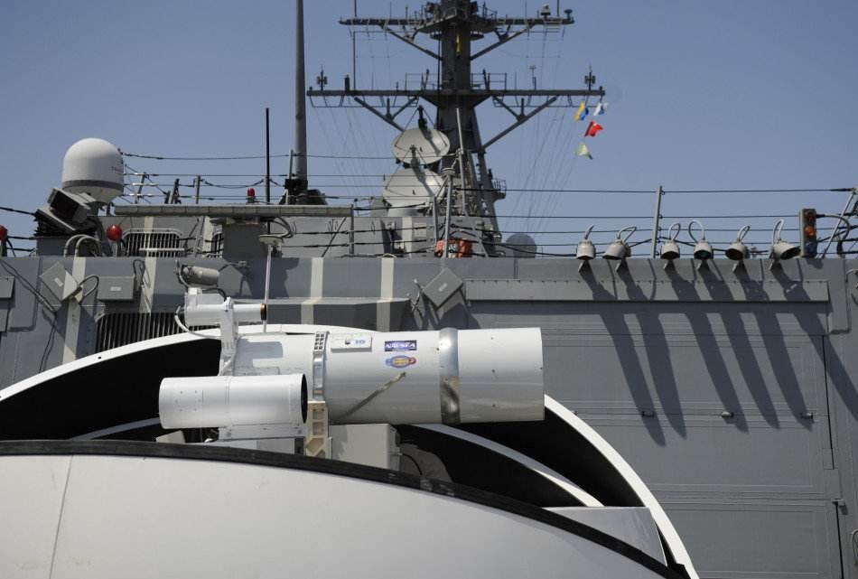 美海军测试超远程激光武器 传输距离超过20公里