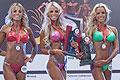 惊奇!巴西三胞胎姐妹包揽健美比赛前三名
