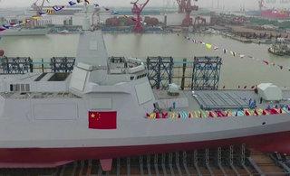 全方位无死角欣赏055型驱逐舰