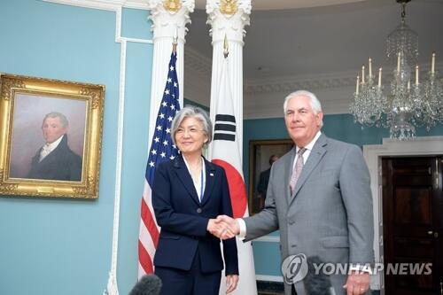 韩美外长会晤 为首脑会谈做最终协调图片 25853 500x333