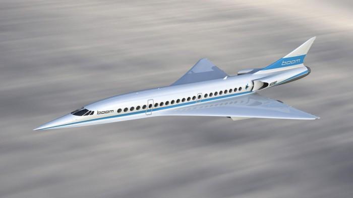 全新超音速飞机抢镜巴黎航展 飞速高达2.2马赫