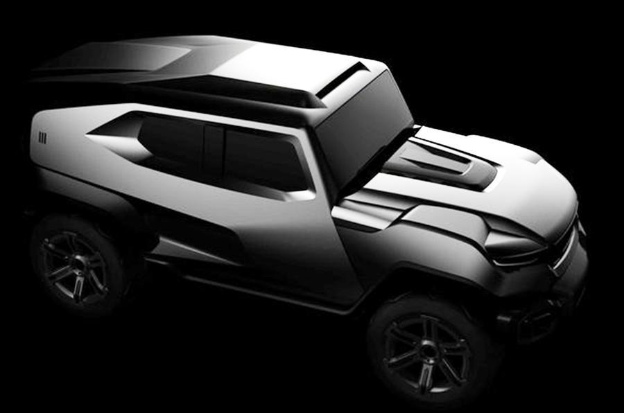 全球最极端硬派SUV诞生?可选防弹配置