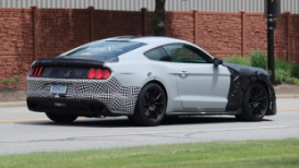 将运动发挥到极致 Mustang Shelby GT500谍照曝光