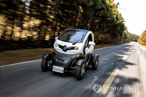 雷诺抢占韩国微型电动车市场 Twizy下半年上市