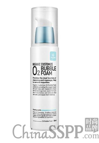 一扫沉积绽放光彩 NUGANIC绿康丽订制型O2泡沫洗面奶