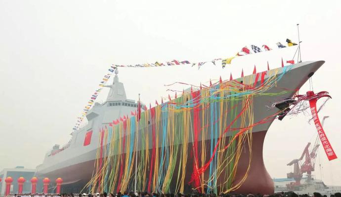 国防部公开万吨驱逐舰技术性能:采用全燃动力