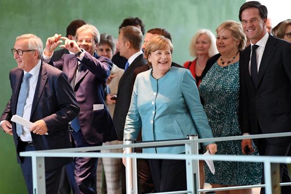 欧洲多国领导人出席G20峰会筹备会议