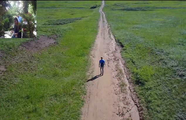 美小伙为求婚徒步800公里终抱美人归