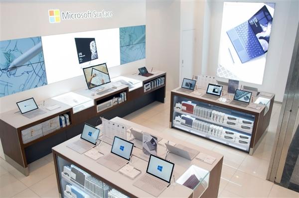 国内软粉福利 全球首家Surface尊享体验区开业